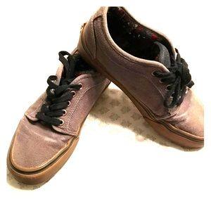 Men's brown vans